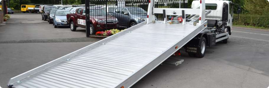 Aluminium Slide Bed Recovery Vehicle Tilt And Slide